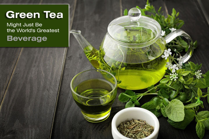 Green Tea Might Just Be the World's Greatest Beverage for These Five Reasons