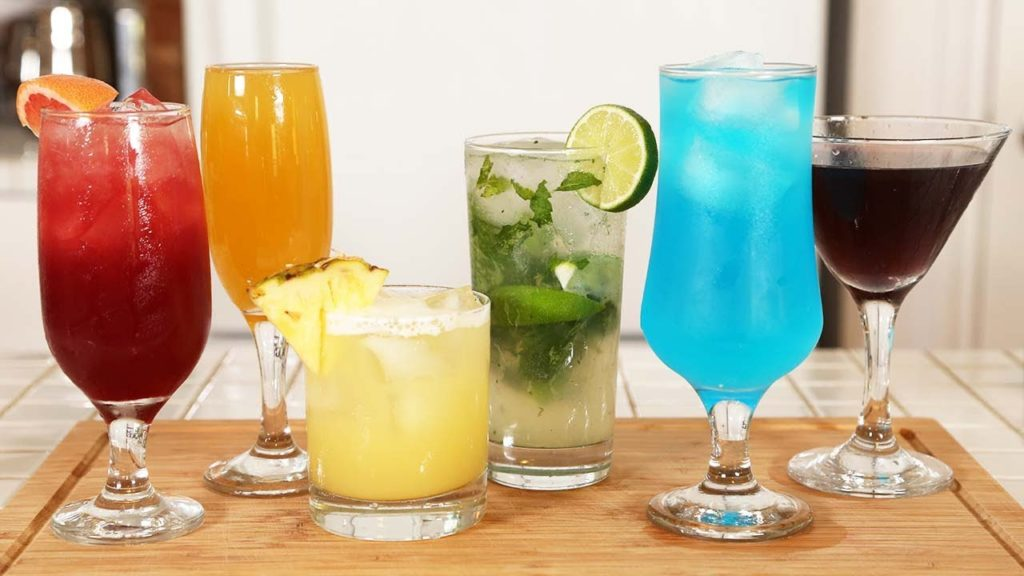 Bar Mixes, Cooking Dictionary popular bar drinks to order
