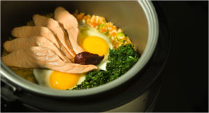 Importance Of Food cooking food using rice cooker