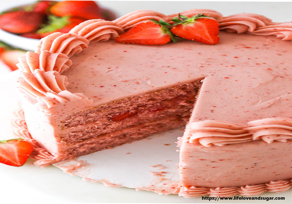 About Strawberry Cake