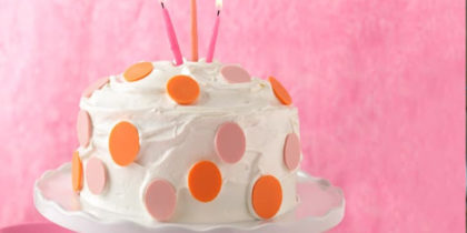 Baking the Perfect Birthday Cake