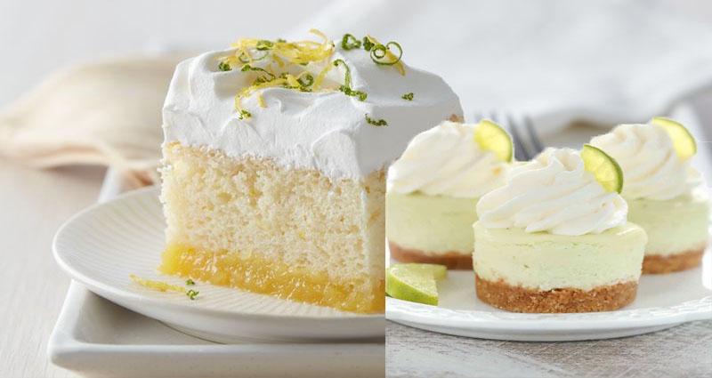Dessert Recipe Ideas: Lemon Lime Coconut Cream Cake