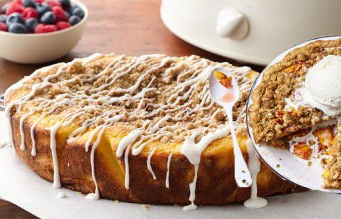 Pecan Coffee Cake Dessert Pizza Recipe